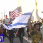 Jewish Boy against american palestinians LA