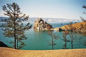 Байка́л  озеро  в южной части Восточной Сибири